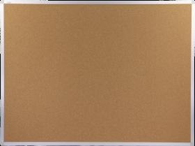 Tablica korkowa Ofix Standard, w ramie aluminiowej, 120x90cm, brązowy