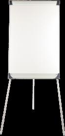 Flipchart Ofix Economy, suchościeralna, 100x70cm, srebrny