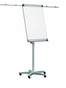 Flipchart mobilny Ofix Standard, suchościeralno-magnetyczna, 70x100cm, srebrny