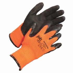 Rękawice ochronne Jobsafe Dragon Winter, rozmiar 10, czarno-pomarańczowy