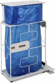 Pojemnik do segregacji odpadów  Janibell XOP M450 (z klapą), 87l, szary