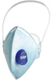 Półmaska Dräger 1720 FFP2 V NR D, z zaworkiem oddechowym, błękitny