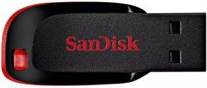 Pendrive SanDisk, Cruzer Blade, 64 GB, USB 2.0, czarny