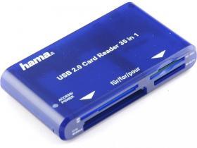 Czytnik kart Hama, 35w1, USB 2.0
