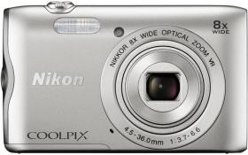 Aparat cyfrowy Nikon, Coolpix A300, srebrny