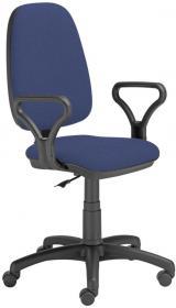 Krzesło obrotowe Nowy Styl Antara/Estera CU14, czarno-niebieski