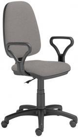 Krzesło obrotowe Nowy Styl Antara/Estera CU73, szaro-czarny