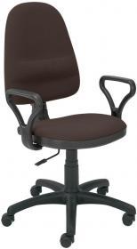 Krzesło obrotowe Nowy Styl Bravo CU24, profil GTP, brązowy
