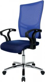 Krzesło obrotowe Realspace Pro Sydney, niebieski
