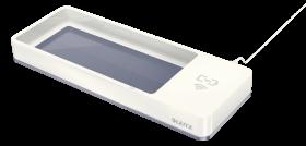 Piórnik - ładowarka Leitz WOW, ze złączem USB, biały