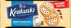 Ciastka Krakuski, śmietankowy, 200g