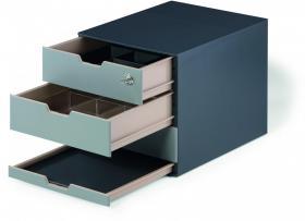 Organizer do kawy Coffee point box Durable, 292x356x280mm, antracytowy