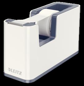 Podajnik do taśmy klejącej Leitz WOW, 19mmx33m, biały