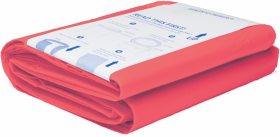 Wkład do pojemnika Korbell Plus 26l, 3 sztuki, czerwony (na odpady medyczne)