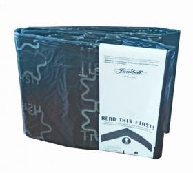 Wkład do pojemników Janibell M450, czarny/odpady mieszane, 1-pack