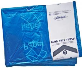 Wkład do pojemników Janibell M450, niebieski/papier, 1-pack