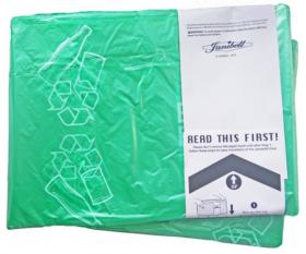 Wkład do pojemników Janibell M450 zielony/szkło, 1-pack
