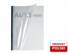 Okładka kanałowa easy Cover Double Semi Matt Opus, A4, 1.5mm, do 15 kartek, czarny