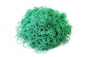 Gumki recepturki Emerson, 40x1.5x1.5 mm, 1 kg, zielony