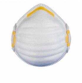 Półmaska filtrująca FilterService FS-17 FFP1, z żółtym klipsem nosowym, bez zaworka, żółty (c)