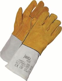 Rękawice skórzane Prosave Jobweld 1, rozmiar 11, biało-żółty