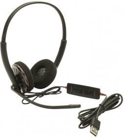 Słuchawki z mikrofonem Plantronics Blackwire C320-M USB, czarny