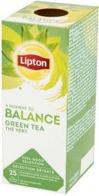 Herbata zielona w kopertach Lipton Green Tea Classic, 25 sztuk x 1.3g