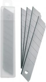Ostrza wymienne do nożyków, Office Depot, 18mm, 10 sztuk, srebrny