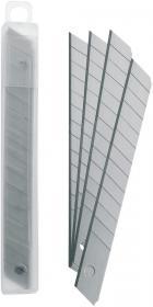 Ostrza wymienne do nożyków, Office Depot, 9mm, 10 sztuk, srebrny