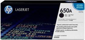 Toner HP 650A (CE270A), 13500 stron, black (czarny)