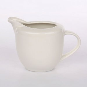 Dzbanek do mleka Altom Design Regular, 0.28l, porcelana, kremowy