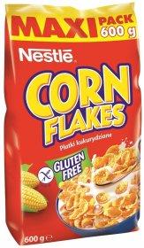 Płatki kukurydziane Nestle Corn Flakes, folia, 600g
