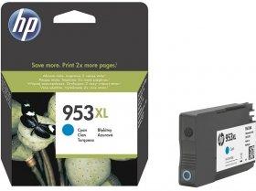 Tusz HP 953XL (F6U16AE), 1600 stron, cyan (błękitny)