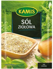 Sól ziołowa Kamis, 35g