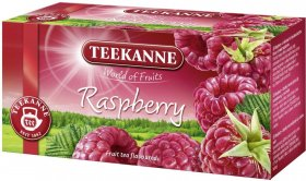 Herbata owocowa w kopertach Teekanne  Raspberry, malina, 20 sztuk x 2.5g