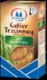 Cukier trzcinowy Demerara Diamant, karton, sypki, 0.5kg