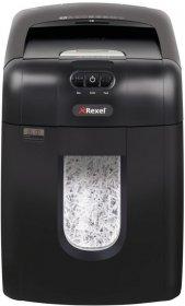 Niszczarka automatyczna Rexel Auto+ 130X, konfetti 4x40mm, do 130 kartek, P-4 DIN, czarny