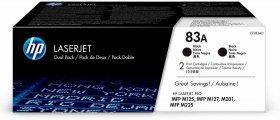 Toner HP 83A (CF283AD), 2 sztuki, 2x1500 stron, black (czarny)