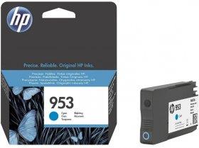 Tusz HP 953 (953), 700 stron, cyan (błękitny)
