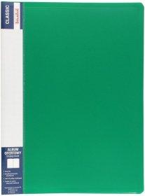 Album ofertowy Biurfol Classic, A4, 60 koszulek, zielony