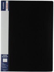 Album ofertowy Biurfol Classic, A4, 60 koszulek, czarny