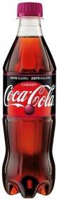 Napój gazowany Coca-Cola Cherry, butelka, 0.5l, 12szt