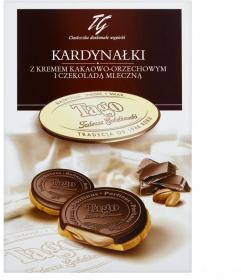 Ciastka Kardynałki Tago, kakaowo-orzechowy, 180g