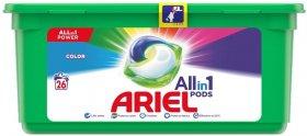 Kapsułki Ariel do prania 3w1, kolor, 28 sztuk