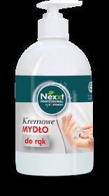 Mydło do rąk Nexxt, kremowe, z dozownikiem, 500ml