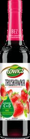 Syrop Łowicz, truskawkowy, 400ml