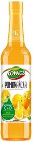 Syrop pomarańczowy Łowicz, 400ml