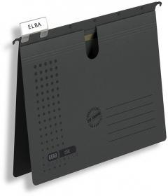 Skoroszyt zawieszany Elba Chic Ultimate, A4, 245x318mm, 230g/m2, grafitowy