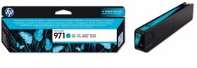 Tusz HP 971 (CN622AE), 2500 stron, cyan (błękitny)