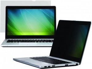"""Filtr prywatyzujący do laptopów 3M™ (PF156W9B), bezramkowy, 16:9, 15.6"""", czarny"""